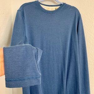 Light blue men's long sleeve